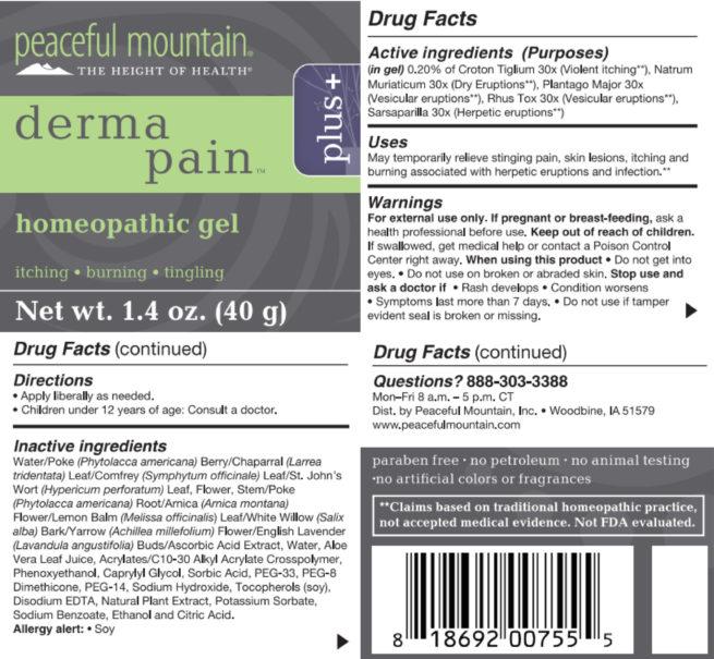 derma pain plus barcode